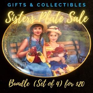 Having a Sister's Plate Sale
